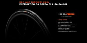 Pneumatico Schwalbe Pro One Tubeless Souplesse